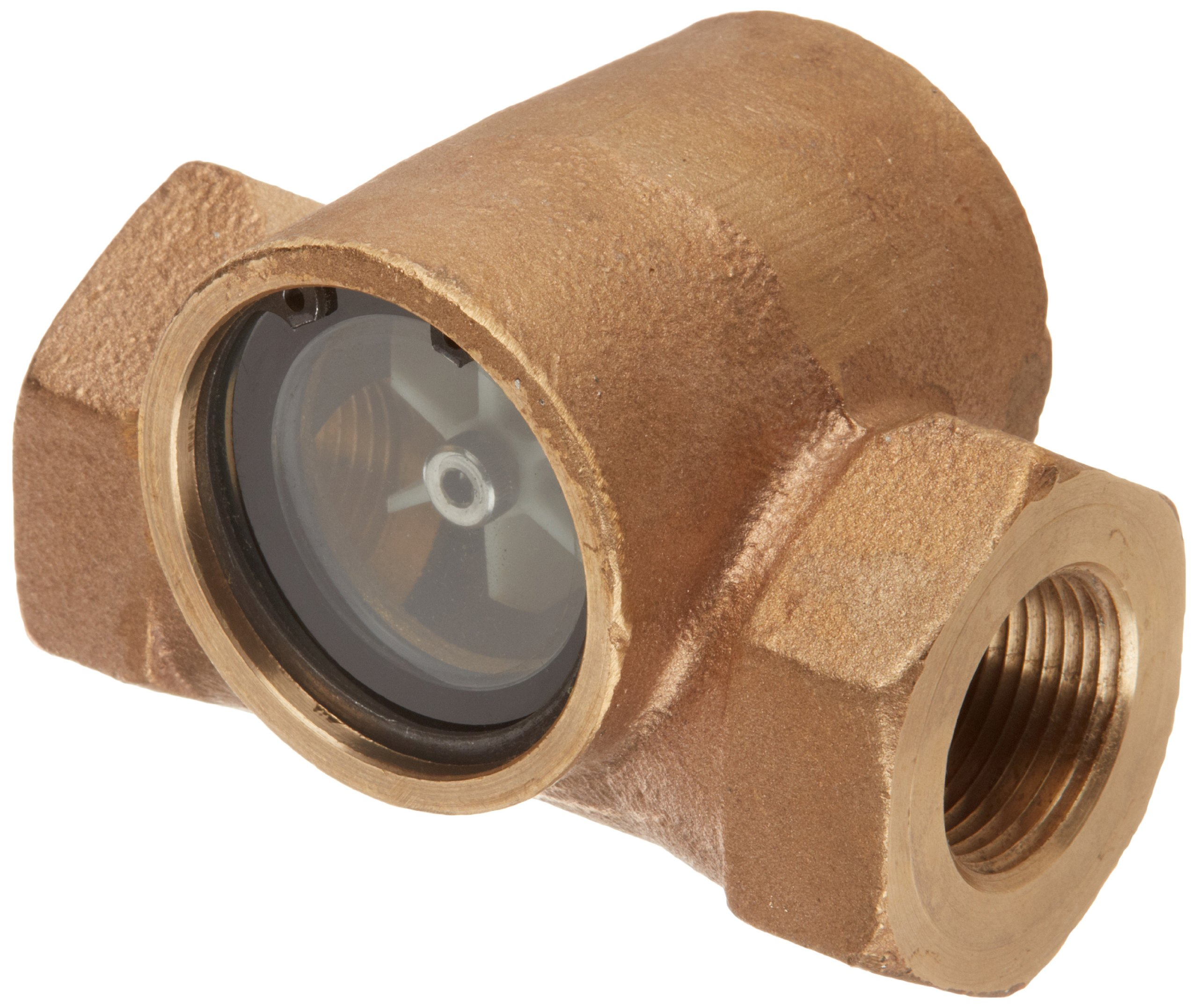Dixon SF1631-100 Bronze Pipe and Welding Fitting, Sight Flow Indicator, 1'' NPT Female by Dixon Valve & Coupling