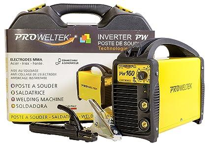 proweltek pr1302 estación de soldadura inverter 160 A incluye ...