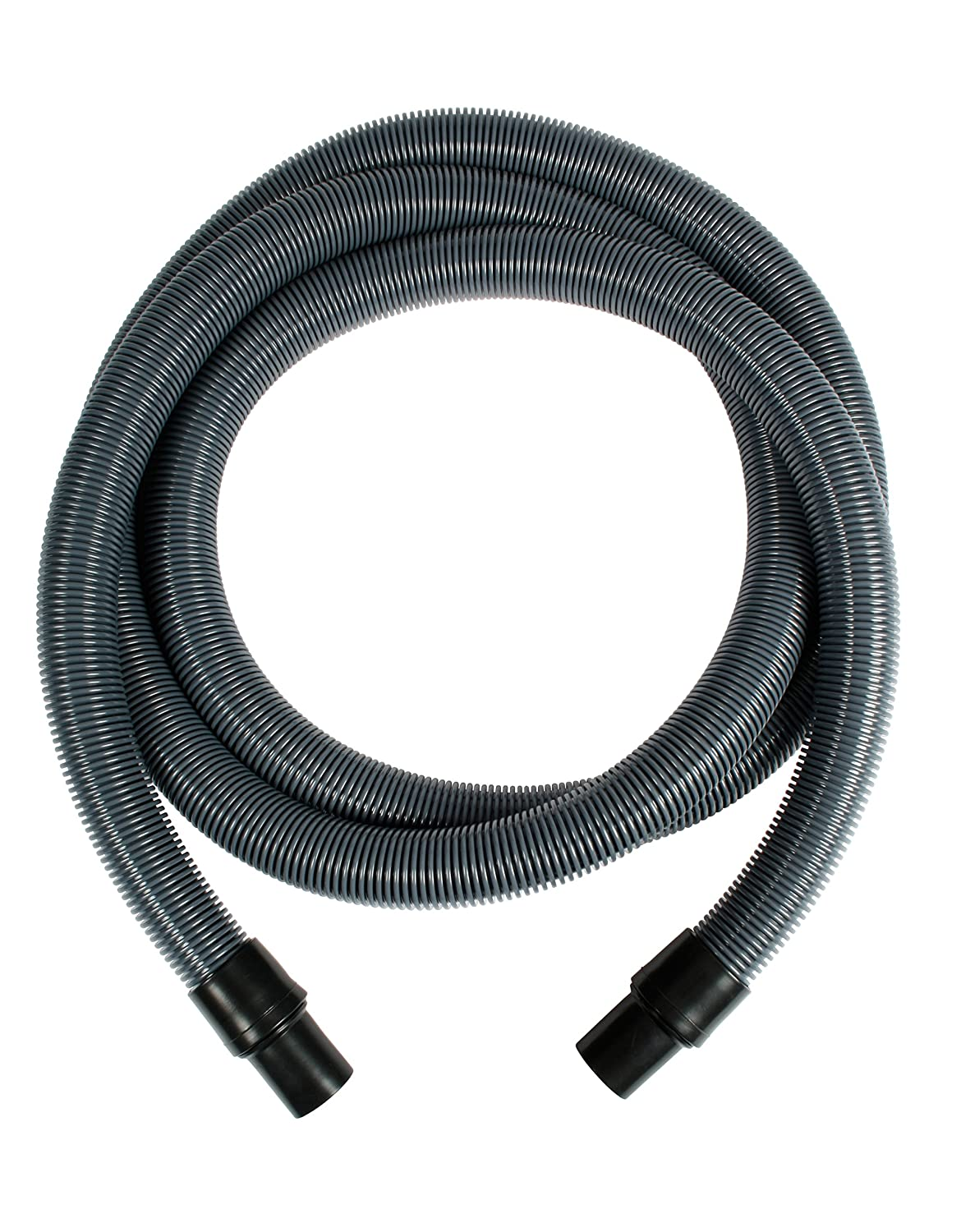Cen-Tec Systems 91376 Varioflex Crushproof Vacuum Hose with 1.5-Inch Cuffs, 10-Feet, Silver