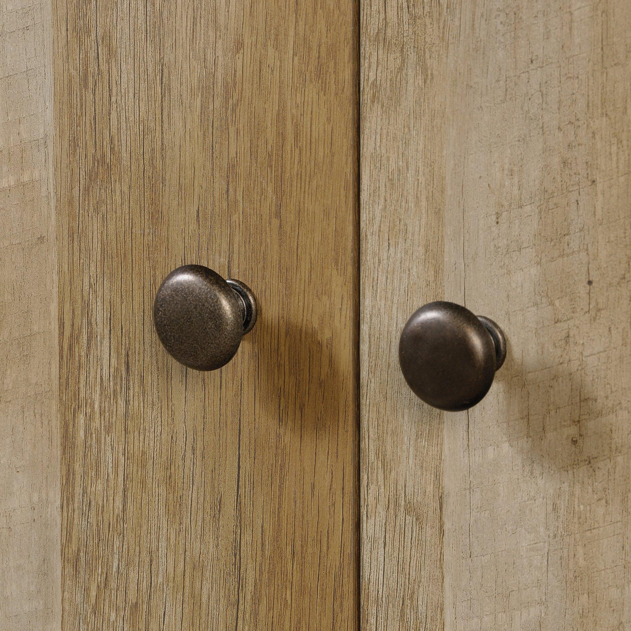 Sauder 419077 Dakota Pass Armoire, 33.78'' L x 19.53'' W x 57.84'' H, Craftsman Oak finish by Sauder (Image #7)