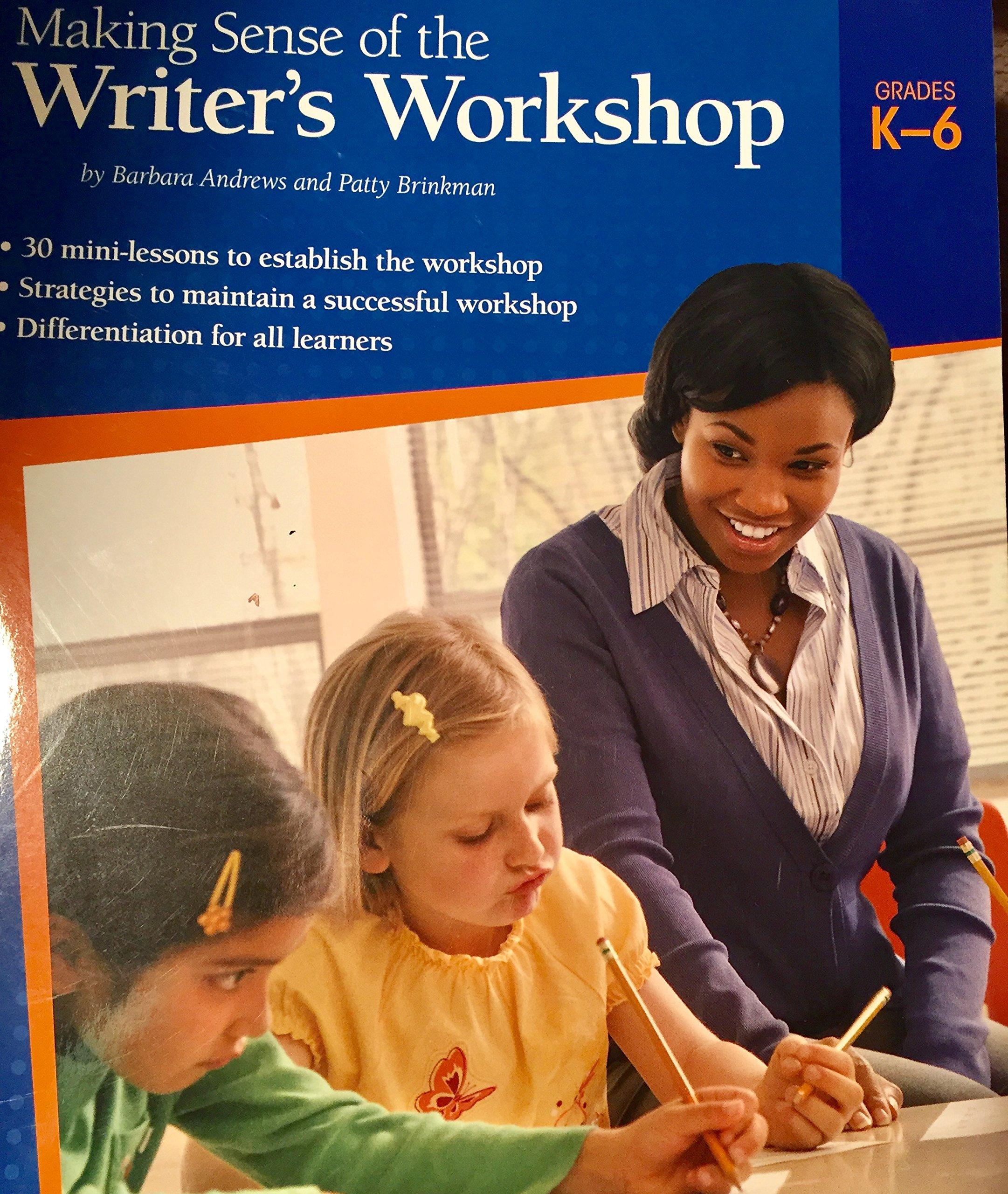 Read Online Making Sense of the Writer's Workshop ebook