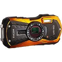 "Ricoh WG-50 16MP Waterproof Still/Video Camera Digital with 2.7"" LCD, (Orange)"