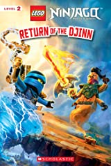 Return of the Djinn (LEGO Ninjago: Reader) Kindle Edition