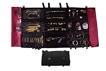 Amazoncom Folding Foldable Storage Case Jewelry Organizer by