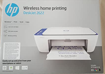 Incredible Amazon Com Hp Deskjet 2622 All In One Printer Wireless Download Free Architecture Designs Embacsunscenecom