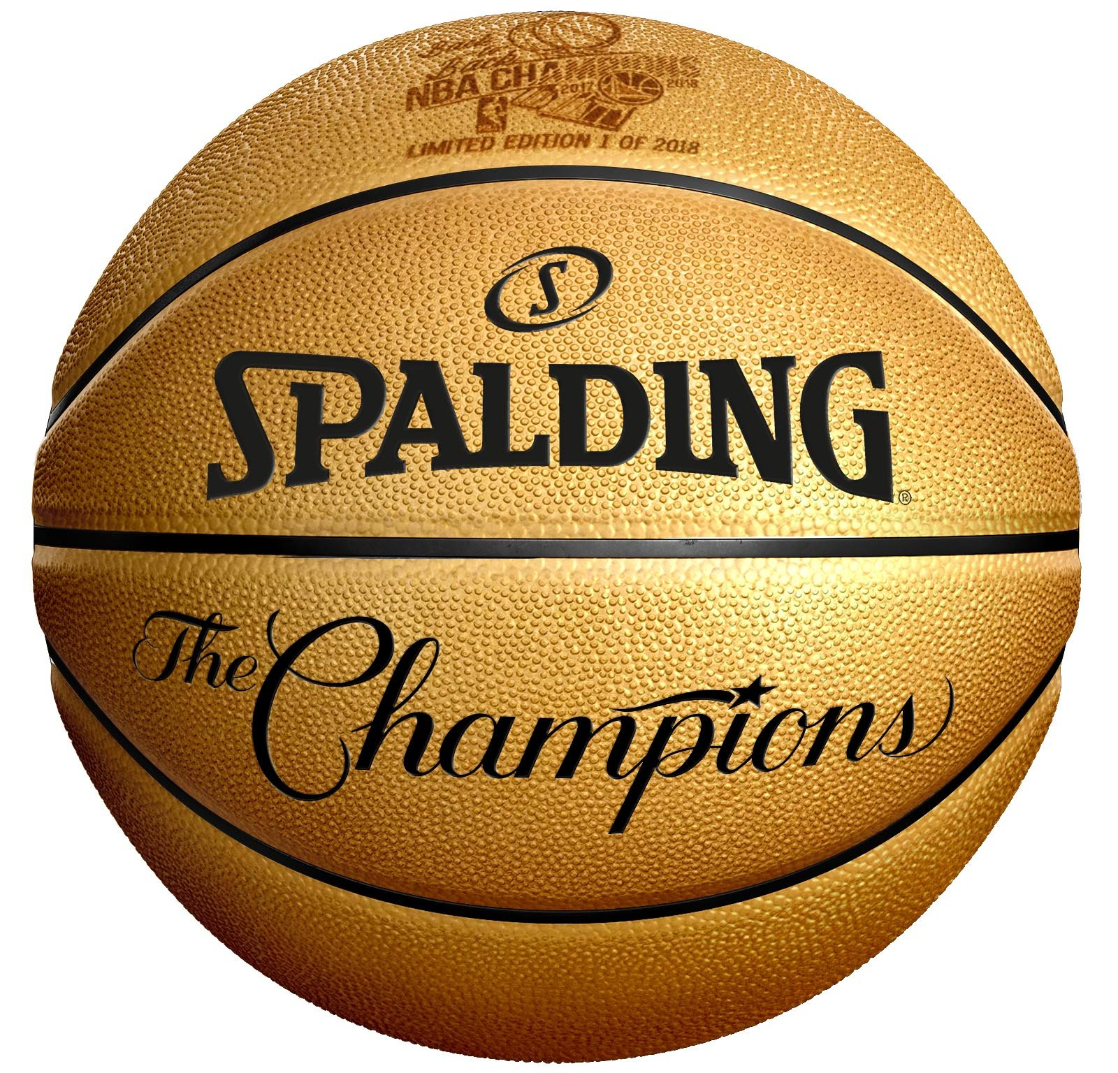 NBA Golden State Warriors Unisex Spaldingbasketball, Gold, One Size by Spalding