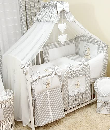 Stunning Baby Cot/Cot Bed Canopy Drape/Big 485cm +Canopy Free Floor Standing Holder (Grey) Amazon.co.uk Baby & Stunning Baby Cot/Cot Bed Canopy Drape/Big 485cm +Canopy Free Floor ...