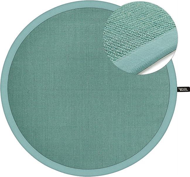Benuta Kurzflor Teppich Sisal Rund Turkis O 160 Cm Rund Moderner Teppich Fur Wohnzimmer 4053894744990 Amazon De Kuche Haushalt