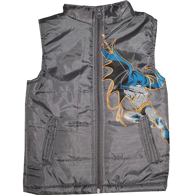 b1c8aa2db TrendiGo Fashion Boy s Batman Sleeveless Jacket (Black)(Pack of 1 ...