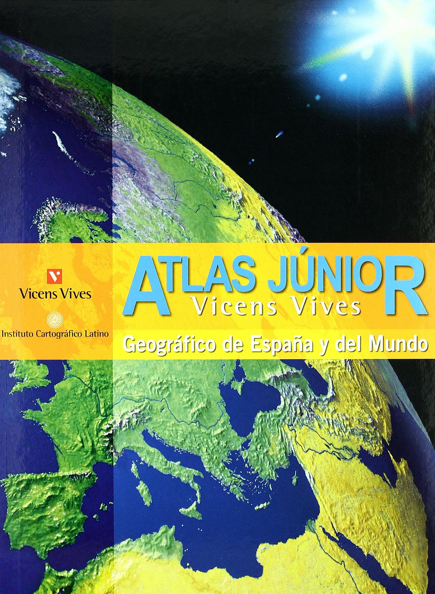 Atlas Júnior Geográfico De España Y Del Mundo - 9788431673321 Tapa dura – 1 jun 2016 S.A. Vicens Vives Primaria Editorial Vicens Vives 843167332X 983396