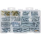 #1 Best Quality Wood Screw Assortment Kit, 240 Pieces