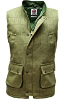Derby Tweed Bodywarmer Gilet Waistcoat Hunting Shooting by WWK / WorkWear King