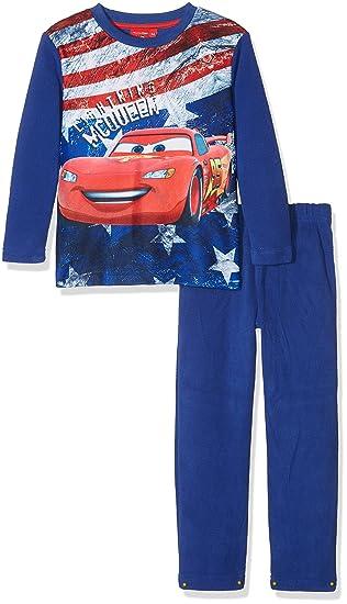 Disney Lightning MC Queen Us Flag, Conjuntos de Pijama para Niños, Azul (Blue 19-3952TC), 3-4 Años: Amazon.es: Ropa y accesorios