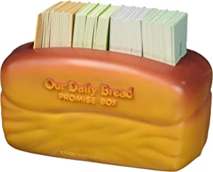 DaySpring Our Our Daily Bread Promise Box with Scripture Cards, 4 1/4