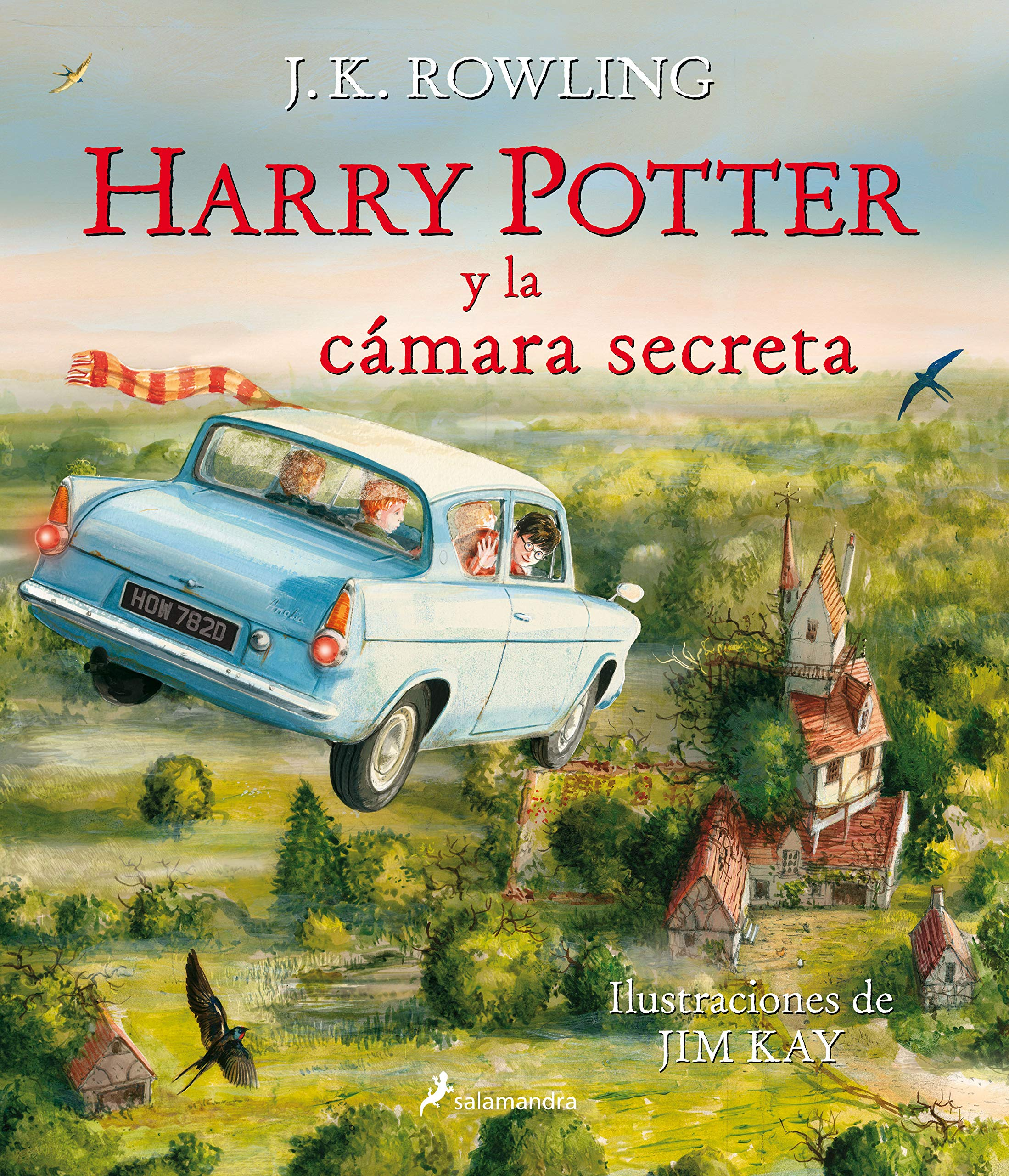 Harry Potter y la cámara secreta Harry Potter edición ilustrada 2 ...