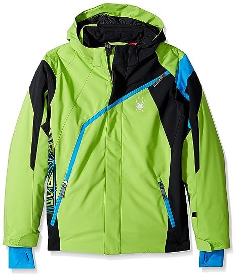 fb7d9a2aa Spyder Boy's Challenger Ski Jacket