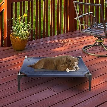 Amazon.com: PETMAKER - Cama para mascotas portátil con pie ...