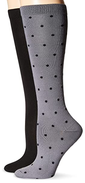 4ff11b6d999 Hanes Women s ComfortSoft 2 Pack Knee High Socks