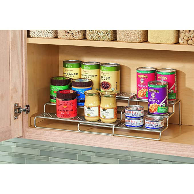 Edenware Spice Rack And Stackable Shelf Simple Vinallo Stackable Kitchen Shelf Spice Rack Spicy Jars Organizer