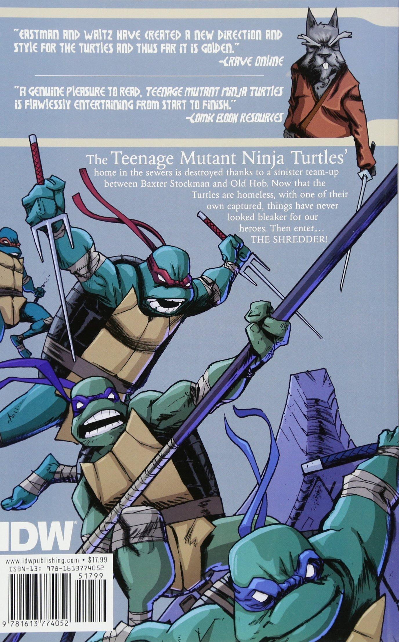 Teenage Mutant Ninja Turtles Volume 3: Shadows of the Past ...