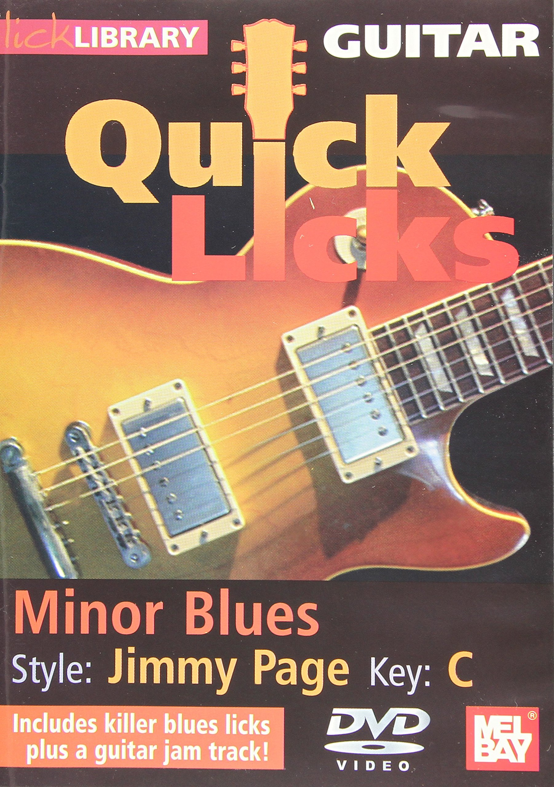 DVD : Quick Licks: Jimmy Page Minor Blues - Key C (DVD)