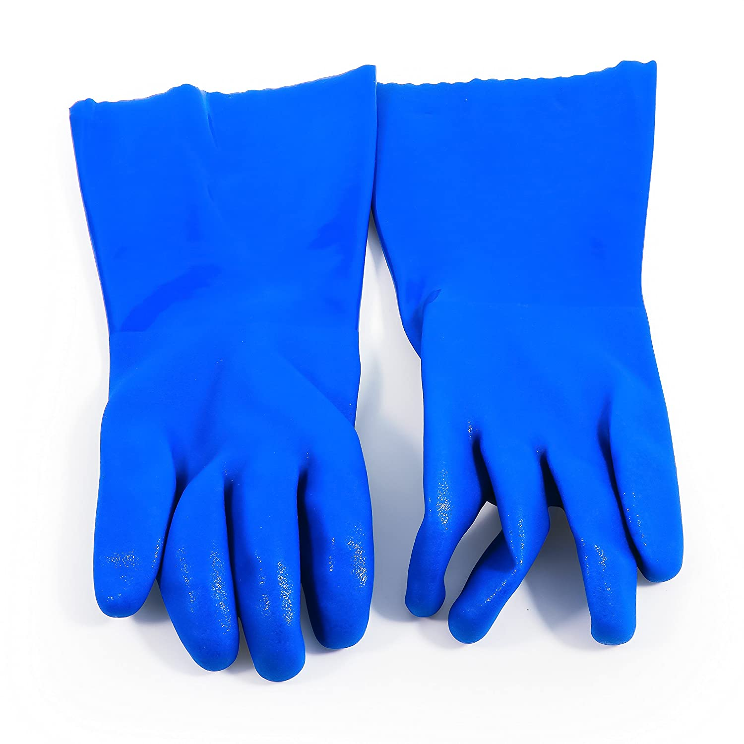 Camco Durable All Purpose RV Disposable Sanitation Gloves, Will Grip in Wet or Dry Conditions, Latex and Powder Free , Heavy Duty Nitrile- Green (100 Gloves) (40286) 40285