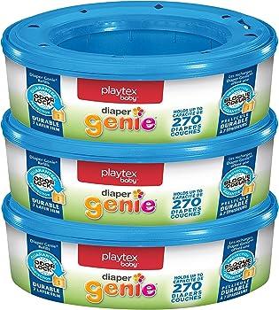 3-Pack.Playtex Diaper Genie Refill Bags (810 Count)