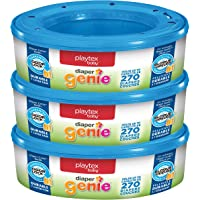 Playtex nappy Genie Refills for nappy Genie nappy Pails - 270 Count (Pack of 3)