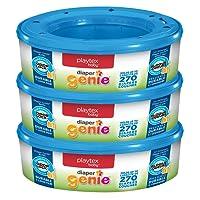 Playtex Diaper Genie Refill, 270 Count (Pack of 3)
