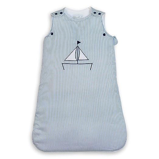 2 opinioni per NioviLu Design Sacco nanna bebè- Blue Sloop (0-6 mesi / 70 cm- 1 Tog)