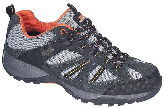 mens Trespass Mens Benjamin Waterproof Breathable Trail Running Shoes Suede