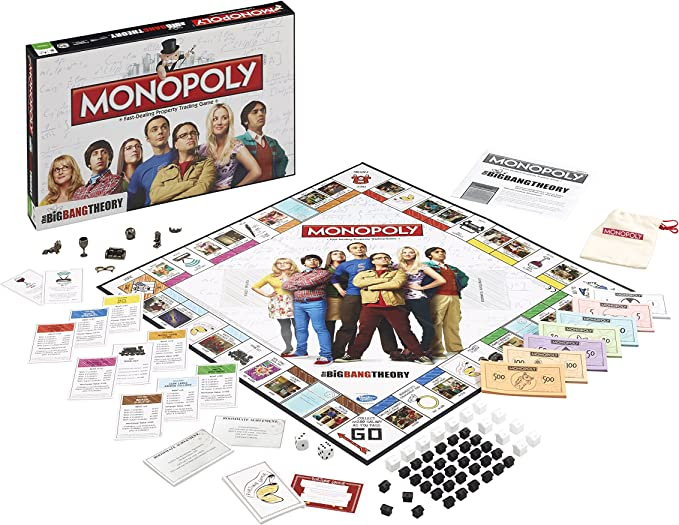 Winning Moves- Monopoly Edición The Big Bang Theory, Juego de Sociedad, 036566: Amazon.es: Juguetes y juegos