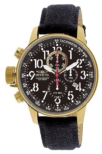 Invicta 1515 I-Force Reloj para Hombre acero inoxidable Cuarzo Esfera negro: Invicta: Amazon.es: Relojes