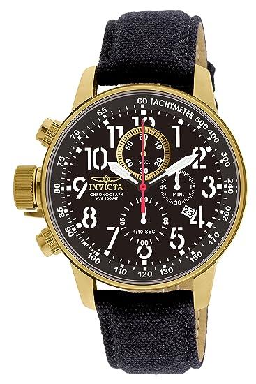 Invicta 1515 I-Force Reloj para Hombre acero inoxidable Cuarzo Esfera negro: Amazon.es: Relojes