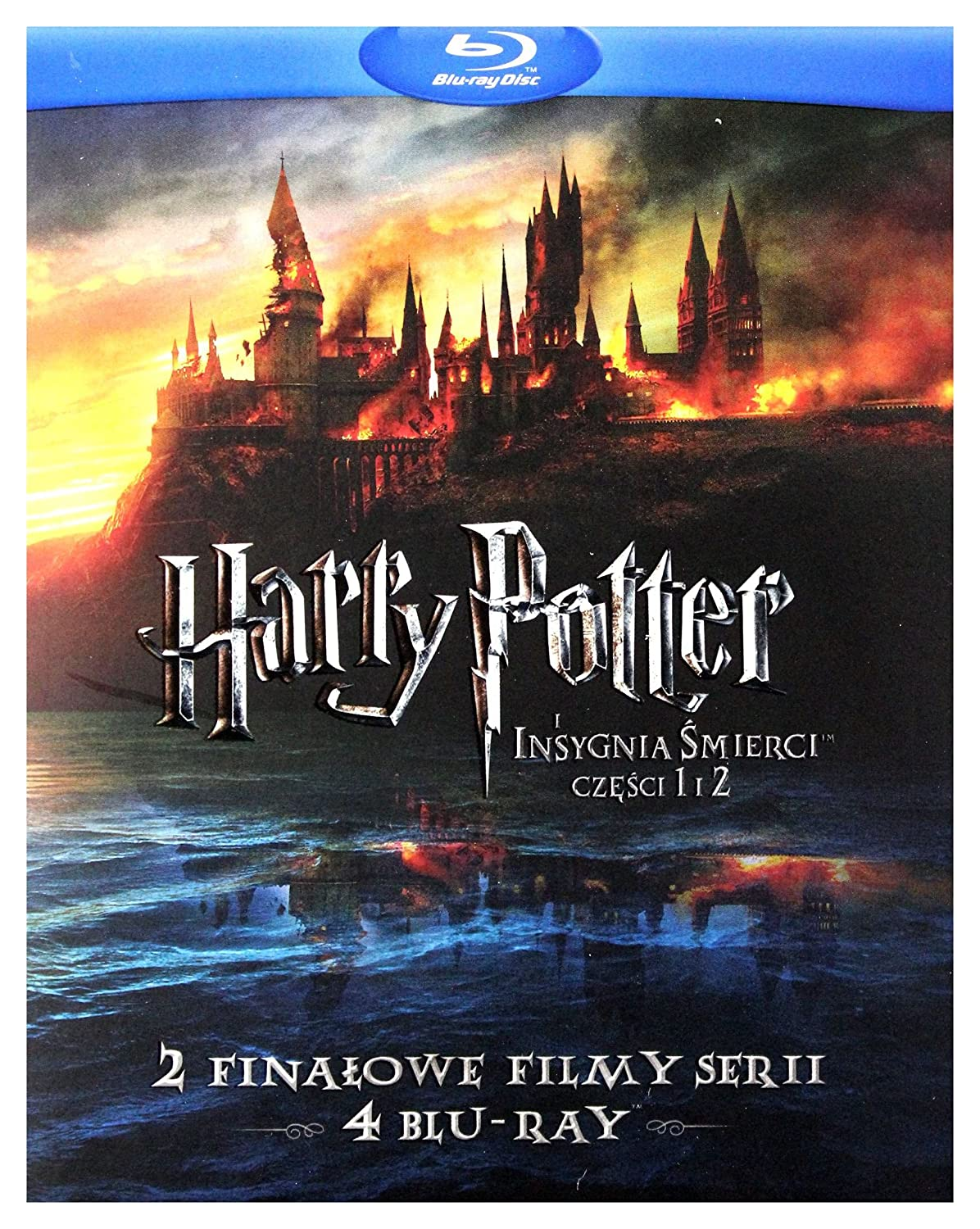 Harry Potter and the Deathly Hallows: Part I / Harry Potter and the Deathly Hallows: Part II (BOX) [4Blu-Ray] (English audio. English subtitles)