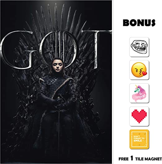 Amazon.com: Póster de la película Juego de Tronos GOT Season ...