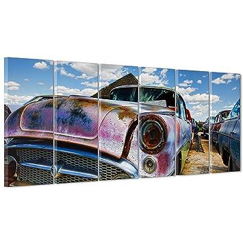 Bild Auf Leinwand Canvas Gerahmt Fertig Zum Aufhangen Cadillac