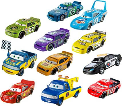 Disney/Pixar Cars Diecast Car Collection, 11-Pack(Discontinued by manufacturer) by Mattel: Amazon.es: Juguetes y juegos