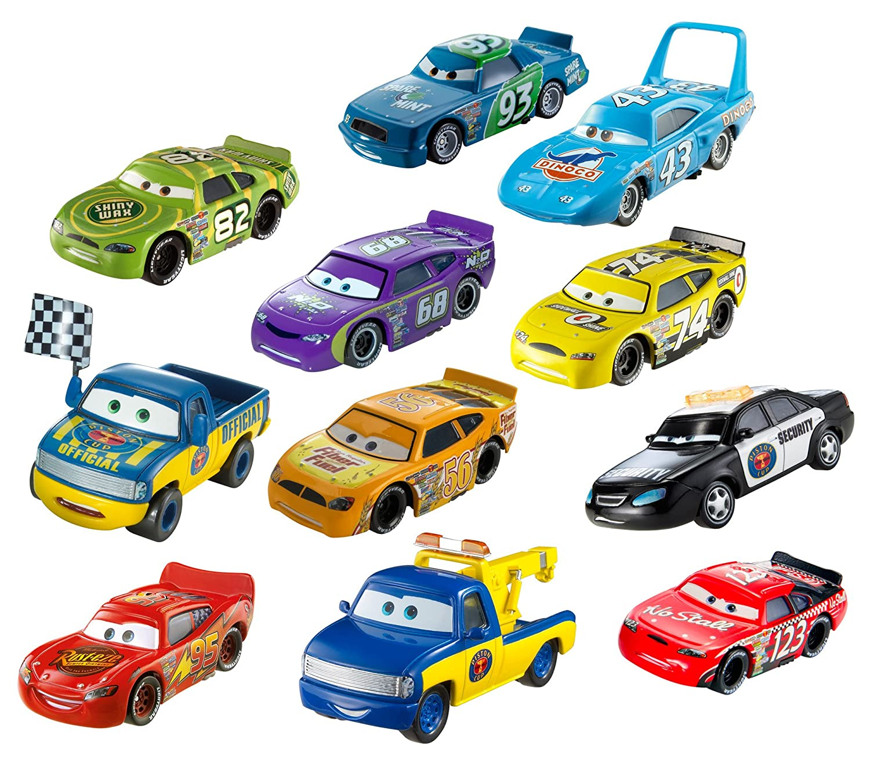 Amazon.com: Disney/Pixar Cars Diecast Car Collection, 11-Pack ...