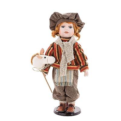 Yosef - Ellis Island Porcelain Doll: Toys & Games