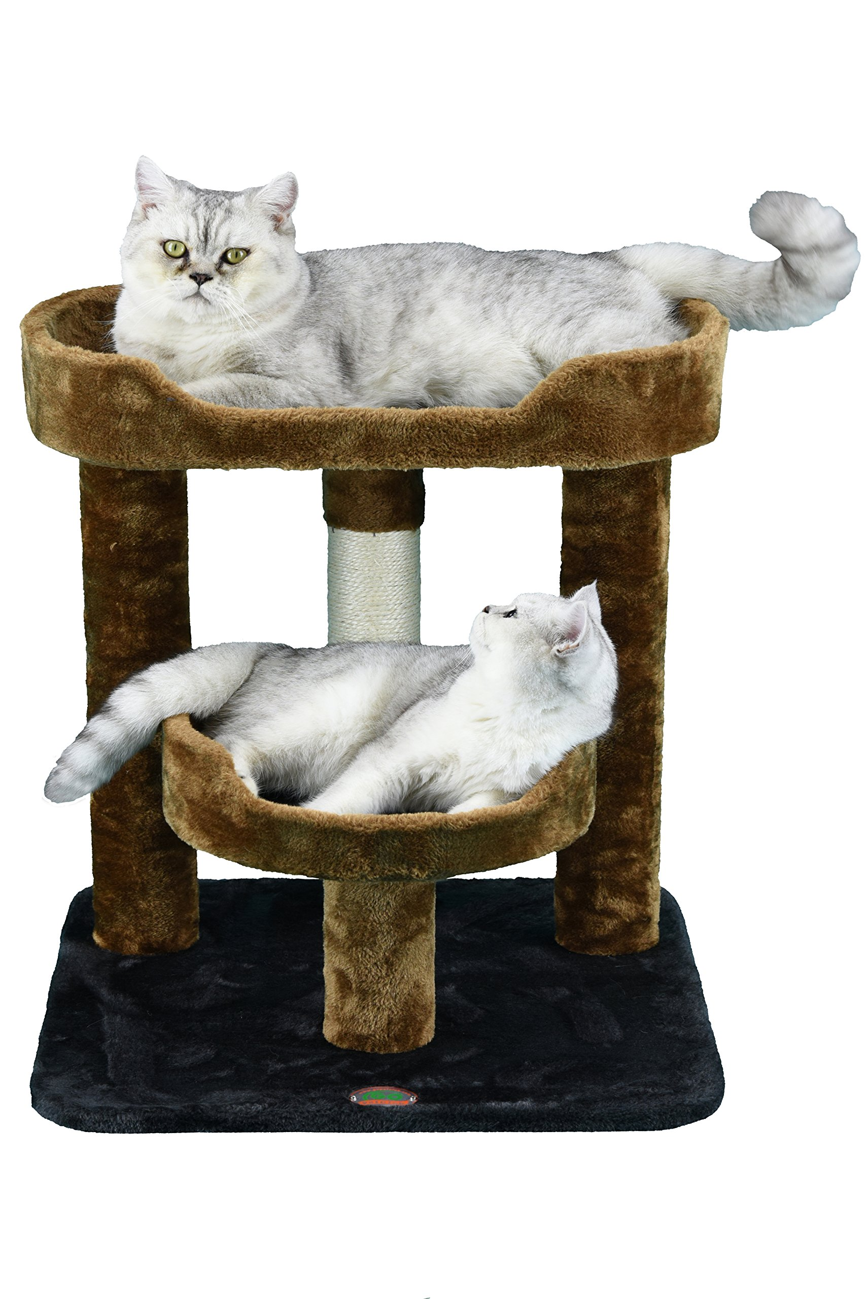 Go Pet Club F3019 Cat Scratcher Condo Furniture by Go Pet Club