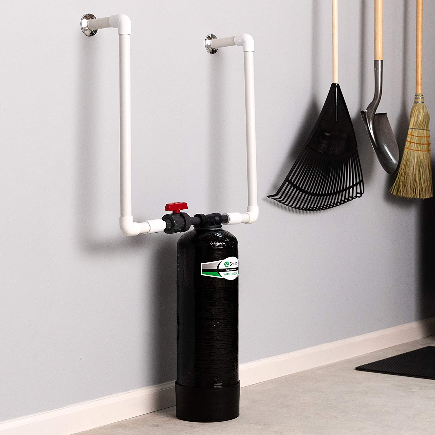 AO Smith water softener reviews - installation