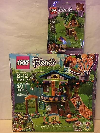 Amazon.com: LEGO Friends Mia s casa en el árbol & Lego ...
