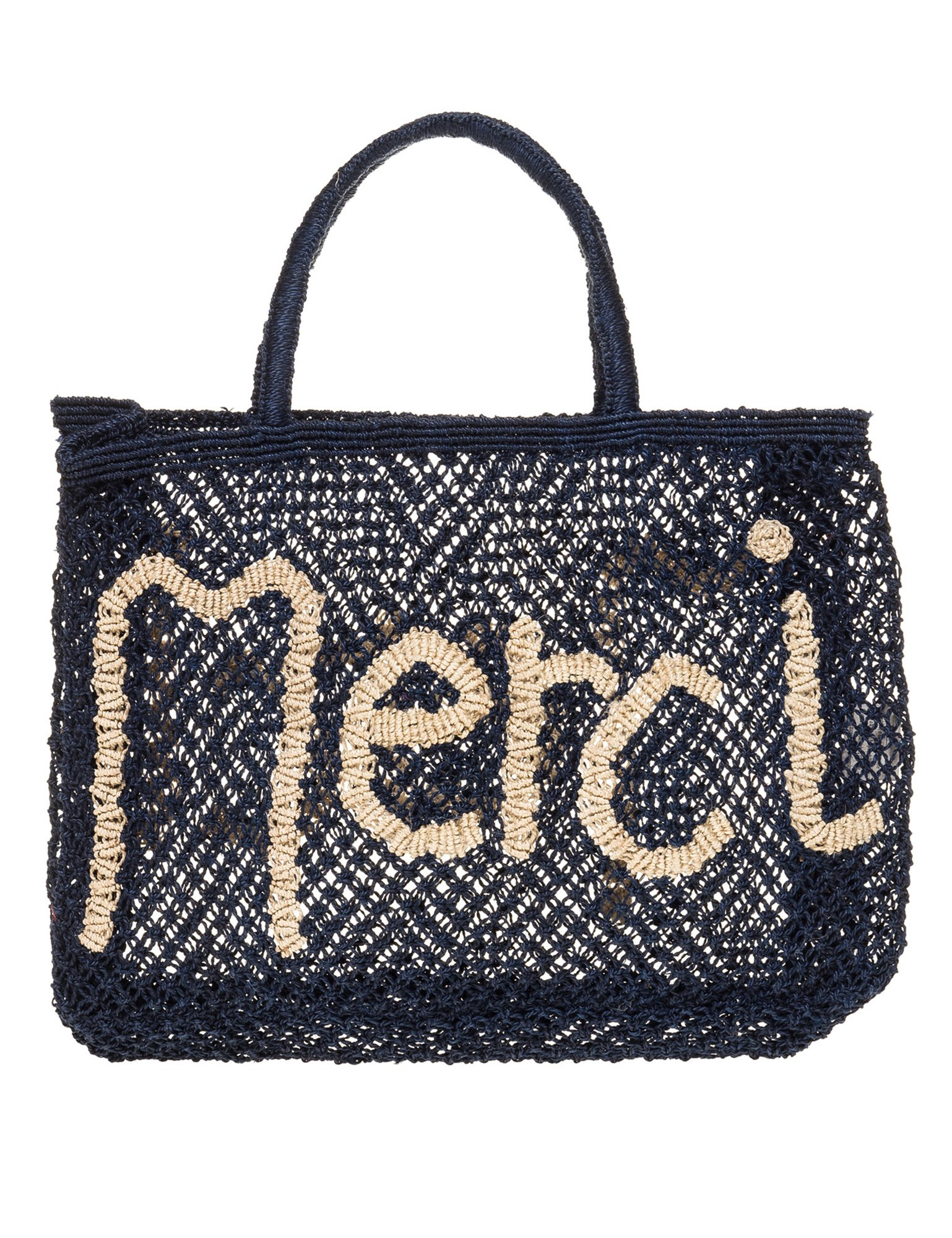 The Jacksons Women's Merci Women's Blue Small Jute Bag Blue