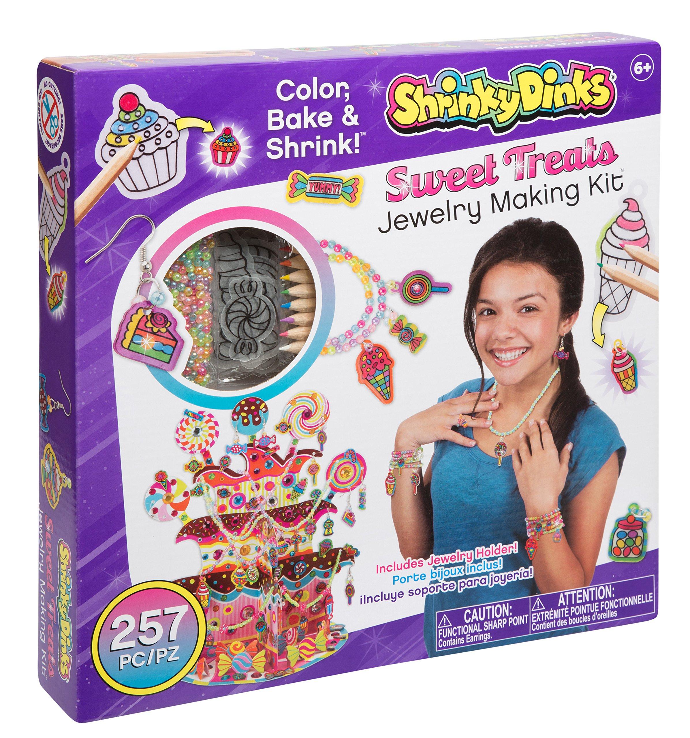 Shrinky Dinks So Sweet Treats Jewelry Kit