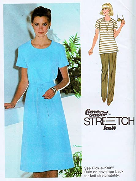 Amazon Simplicity 9077 Vintage Sewing Pattern For Pullover