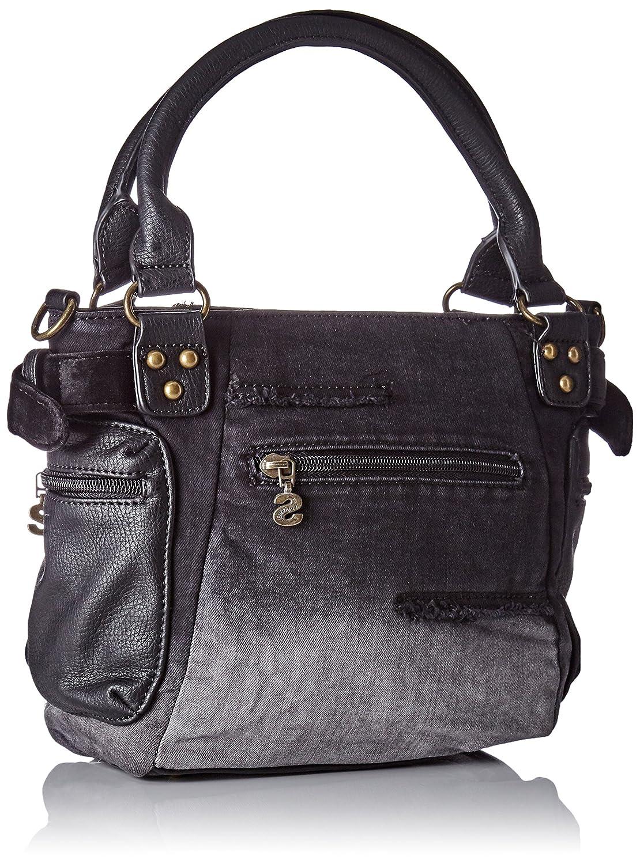 Desigual - Bols_mcbee Mini Blackout. 2000. U, Mujer, Negro, 10.70x23.20x20.50 cm (b x h t): Amazon.es: Zapatos y complementos