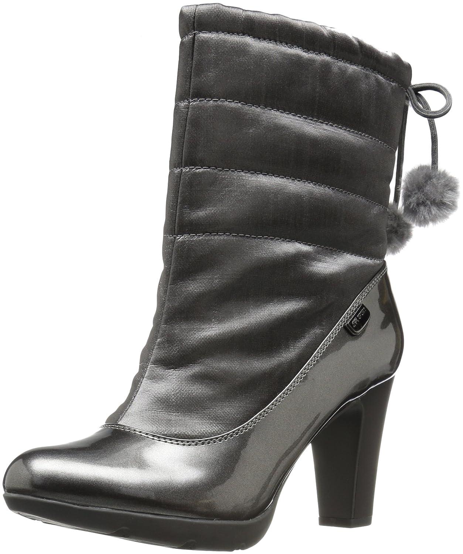 Anne Klein Women's Xhale Fabric Winter Boot B01LWVOSGO 7 B(M) US|Pewter