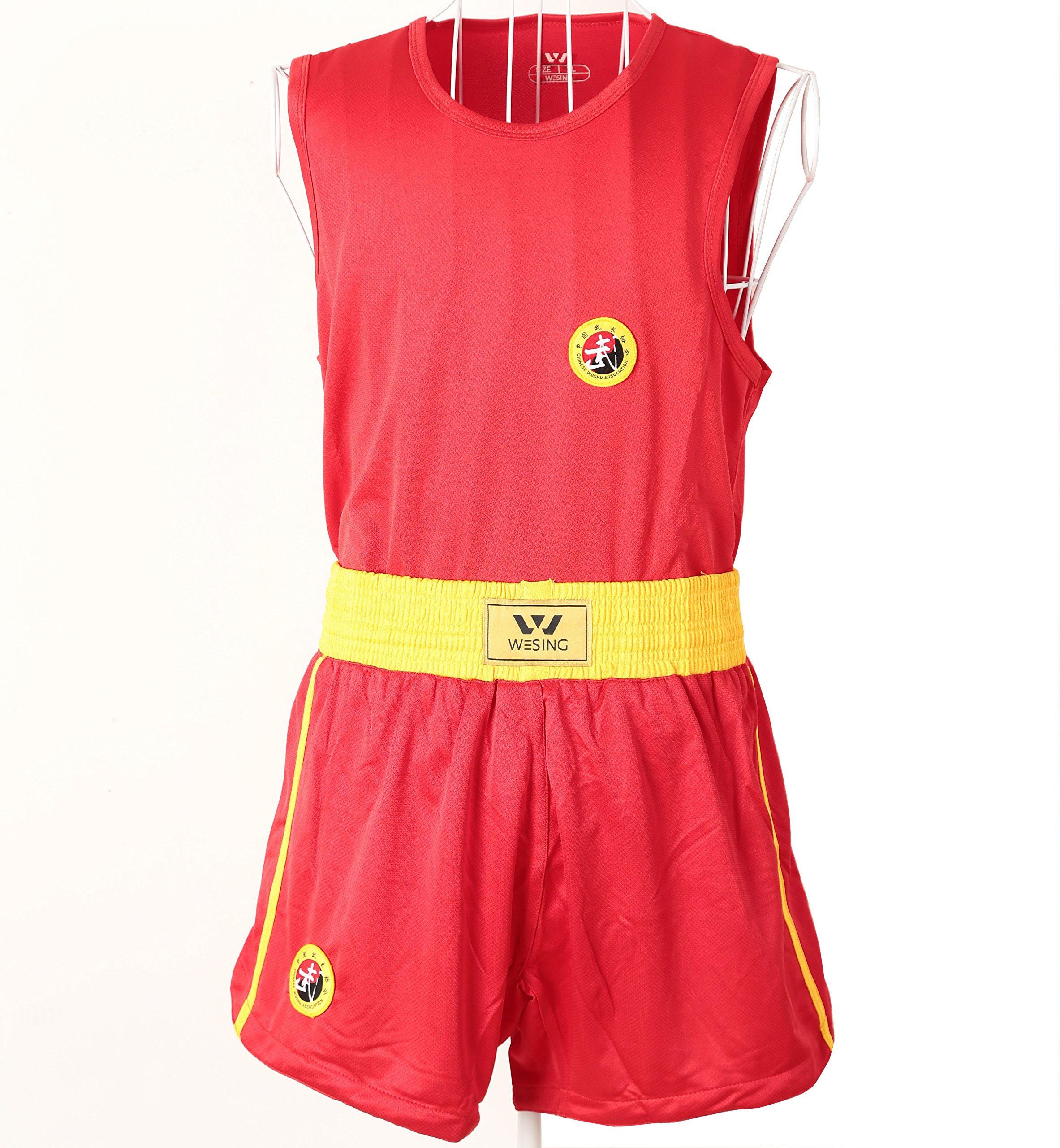 wesing Wushu Sanda Uniform Kick Boxing Sanda Suit