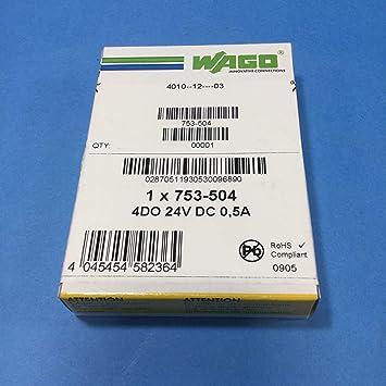WAGO 753 - 504 Module Analog and Digital I/O - Digital